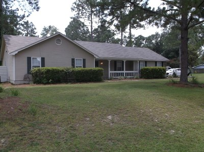 Berrien County, Brooks County, Cook County, Lanier County, Lowndes County Single Family Home For Sale: 5016 Carriage Drive