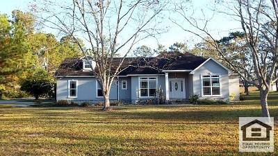 Valdosta GA Single Family Home For Sale: $126,000