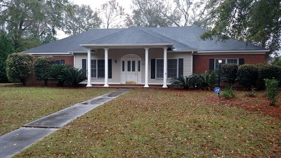 Berrien County, Brooks County, Cook County, Lanier County, Lowndes County Single Family Home For Sale: 3700 Cambridge Drive