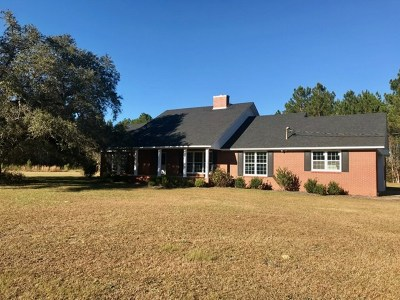 Berrien County, Brooks County, Cook County, Lanier County, Lowndes County Single Family Home For Sale: 7027 Highway 37