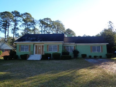 Valdosta Single Family Home For Sale: 2313 N Sherwood Drive