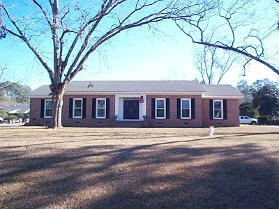 Berrien County, Brooks County, Cook County, Lanier County, Lowndes County Single Family Home For Sale: 1005 Old Coffee Road