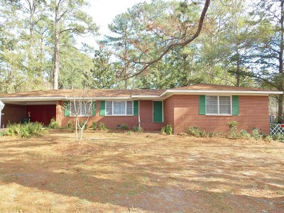 Berrien County, Brooks County, Cook County, Lanier County, Lowndes County Single Family Home For Sale: 2303 Young Drive