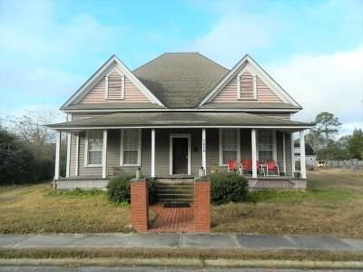 Berrien County, Brooks County, Cook County, Lanier County, Lowndes County Single Family Home For Sale: 8787 Hwy 135