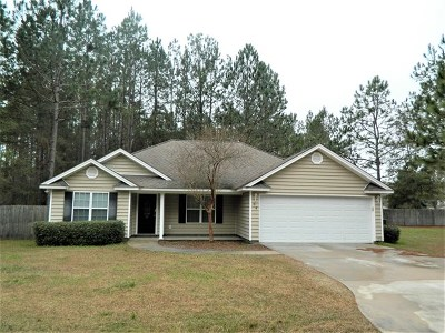Berrien County, Brooks County, Cook County, Lanier County, Lowndes County Single Family Home For Sale: 4 Magnolia Trail