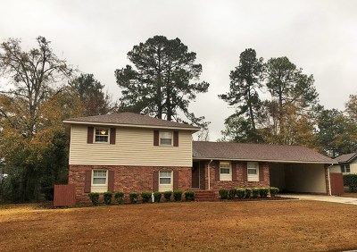 Valdosta GA Single Family Home For Sale: $128,400