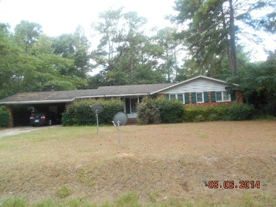 Valdosta GA Single Family Home For Sale: $159,900