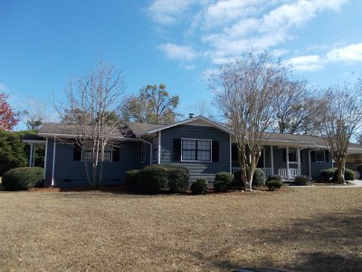 Berrien County, Brooks County, Cook County, Lanier County, Lowndes County Single Family Home For Sale: #5 Clark Circle