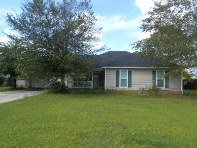 Berrien County, Brooks County, Cook County, Lanier County, Lowndes County Single Family Home For Sale: 26 Ridge Road
