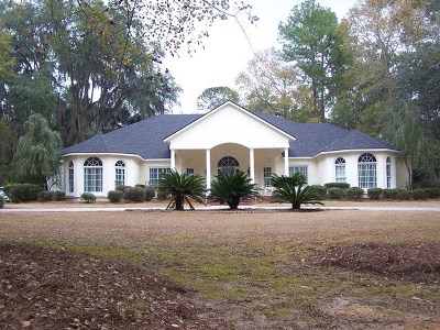 Valdosta Single Family Home For Sale: 4578 Tillman Bluff Road