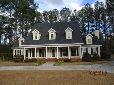 Valdosta Single Family Home For Sale: 4900 Summit Ridge Road