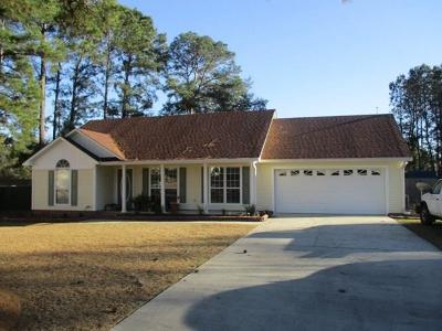Valdosta Single Family Home For Sale: 5211 Bobcat
