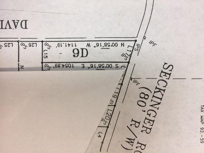 Berrien County, Lanier County, Lowndes County Residential Lots & Land For Sale: 4303 Seckinger Road