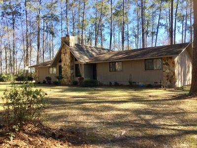 Berrien County, Brooks County, Cook County, Lanier County, Lowndes County Single Family Home For Sale: 4738 Old Mill Town Rd