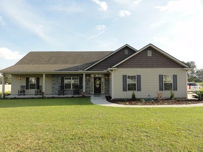 Berrien County, Brooks County, Cook County, Lanier County, Lowndes County Single Family Home For Sale: 188 Harlee Lane