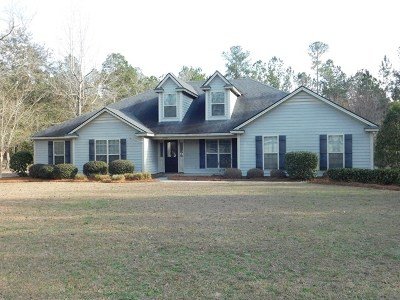 Berrien County, Brooks County, Cook County, Lanier County, Lowndes County Single Family Home For Sale: 3678 Knights Mill