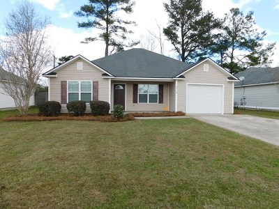 Valdosta Single Family Home For Sale: 3704 Cambium