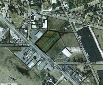 Valdosta GA Commercial Lots & Land For Sale: $150,000