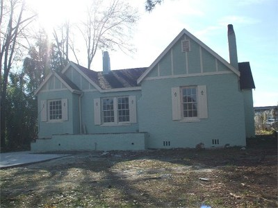Berrien County, Brooks County, Cook County, Lanier County, Lowndes County Single Family Home For Sale: 211 E Force Street