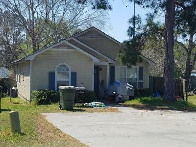 Berrien County, Brooks County, Cook County, Lanier County, Lowndes County Single Family Home For Sale: 1789 W Gordon St.