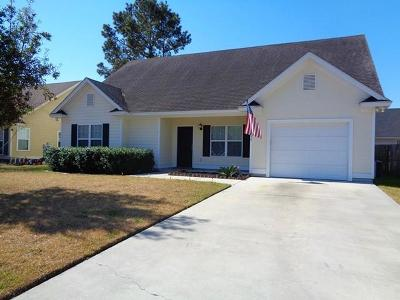 Valdosta GA Single Family Home For Sale: $124,500