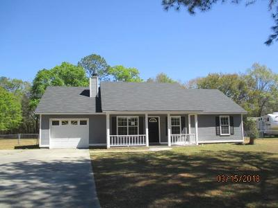 Valdosta GA Single Family Home For Sale: $104,500