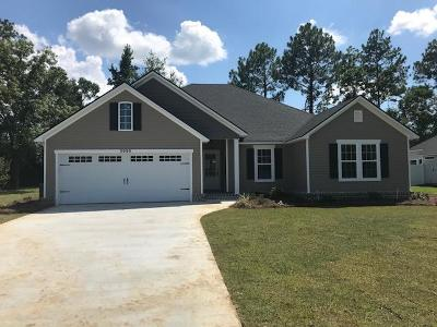 Berrien County, Brooks County, Cook County, Lanier County, Lowndes County Single Family Home For Sale: 3999 Hawthorne Drive