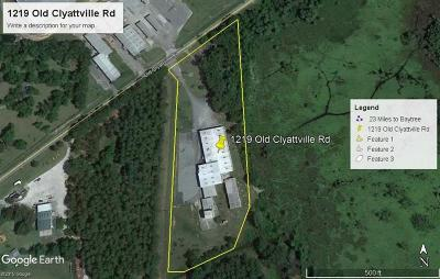 Commercial Lease For Lease: 1219 Old Clyattville Rd