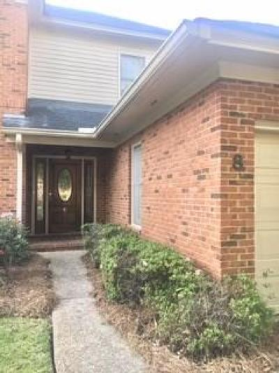 Berrien County, Brooks County, Cook County, Lanier County, Lowndes County Single Family Home For Sale: 8 N Bellemeade Drive