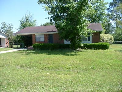 Berrien County, Brooks County, Cook County, Lanier County, Lowndes County Single Family Home For Sale: 507 S College