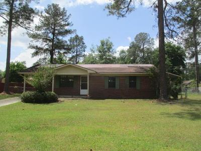 Berrien County, Brooks County, Cook County, Lanier County, Lowndes County Single Family Home For Sale: 4904 Pikes Pond Road