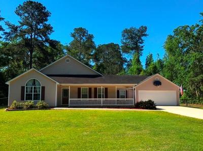 Valdosta GA Single Family Home For Sale: $179,900