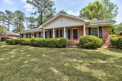 Valdosta Single Family Home For Sale: 2203 Pinecliff Dr