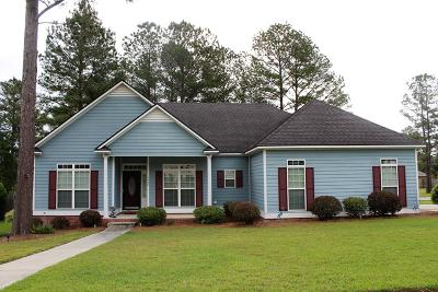 Valdosta Single Family Home For Sale: 4400 Stonehaven Drive