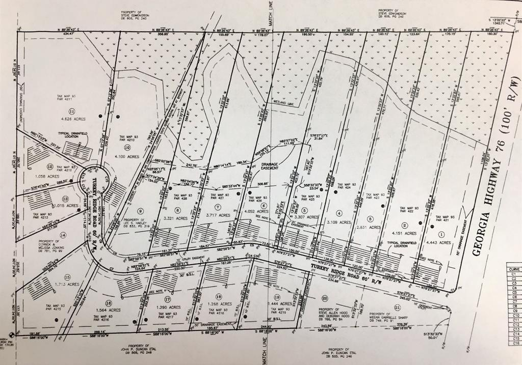 Map Of Quitman Ga.Lot In Quitman For 275 000