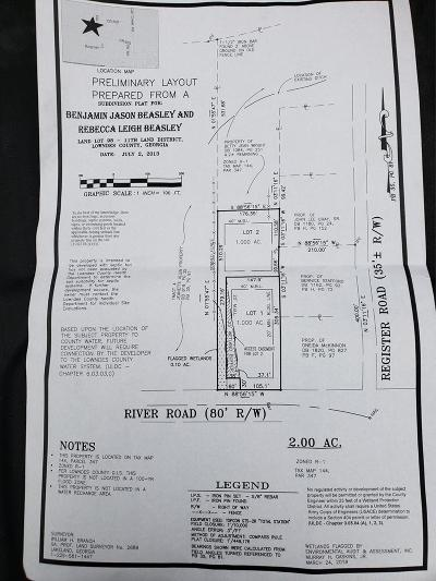 Berrien County, Lanier County, Lowndes County Residential Lots & Land For Sale: 4235 River Road