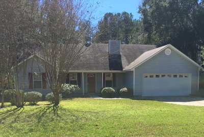 Valdosta GA Single Family Home For Sale: $141,800