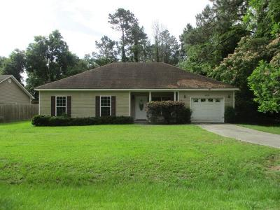 Valdosta GA Single Family Home For Sale: $86,500