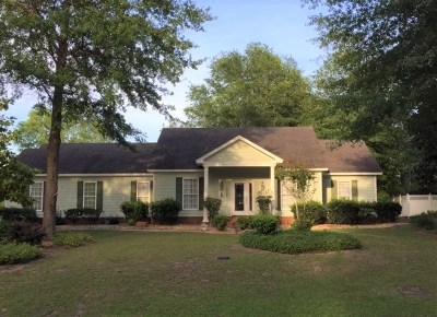Berrien County, Brooks County, Cook County, Lanier County, Lowndes County Single Family Home For Sale: 1007 Cherrywood Circle