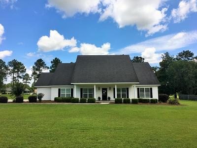 Berrien County, Brooks County, Cook County, Lanier County, Lowndes County Single Family Home For Sale: 4340 Lenora Dr
