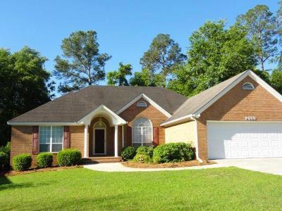 Valdosta GA Single Family Home For Sale: $172,000