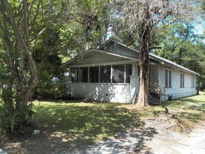 Berrien County, Brooks County, Cook County, Lanier County, Lowndes County Single Family Home For Sale: 515 Charlton