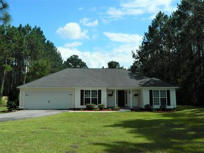 Berrien County, Brooks County, Cook County, Lanier County, Lowndes County Single Family Home For Sale: 109 Boyette Road