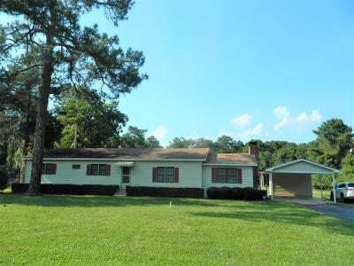 Berrien County, Brooks County, Cook County, Lanier County, Lowndes County Single Family Home For Sale: 10333 Troupeville Road