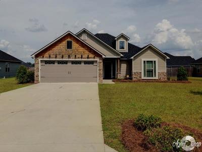 Valdosta GA Single Family Home For Sale: $166,900