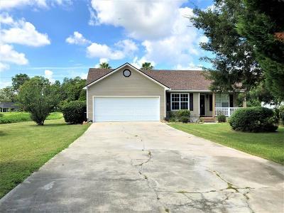 Valdosta GA Single Family Home For Sale: $136,900