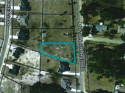 Residential Lots & Land For Sale: 3800 Mount Zion Church Rd.
