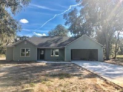 Single Family Home For Sale: 4535 Caleb Creek