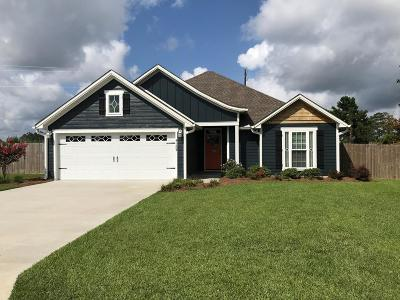 Valdosta GA Single Family Home For Sale: $174,500