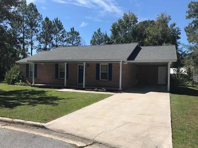 Berrien County, Brooks County, Cook County, Lanier County, Lowndes County Single Family Home For Sale: 718 Devonne Street